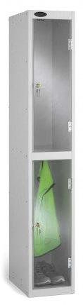 Probe 2 Door Polycarbonate Retail Security Locker