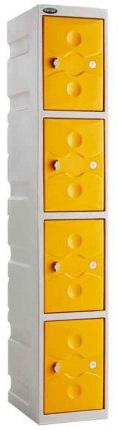 4-Door-Water-Resistant-Plastic-Locker