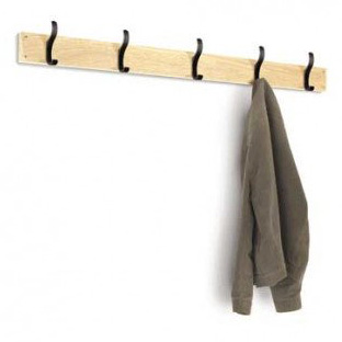 Probe Cloakroom Coat Hook Wall Strip