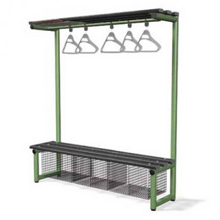 ingle-Bench-with-Hanging-Rail-Black