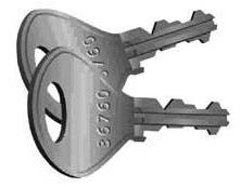 Probe Type A Key Locks