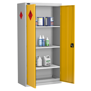Probe High 2 Door Hazardous Substance Cabinet