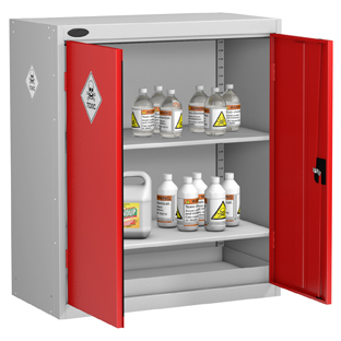 Probe Low 2 Door Toxic Substance Cabinet