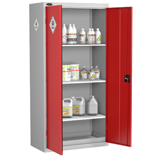 Probe High 2 Door Toxic Substance Cabinet