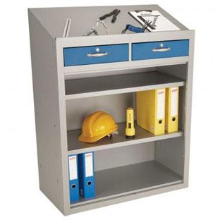 Probe Lectern standing desk open storage