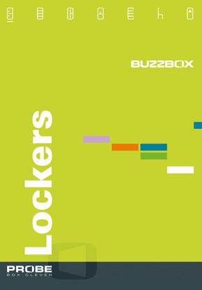 Probe BUZZBOX Satin Finish Lockers Brochure