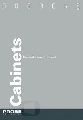 Probe Cabinets brochure